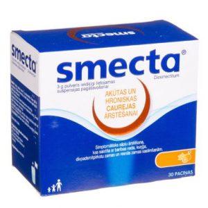 Smecta 3g 30N - Treatment of Chronic Diarrhea Heartburn Inflation Gastritis Bloating Improves Digestion