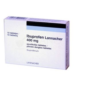 Ibuprofen 400mg - Pain Headache Toothache Reliever Fever Reducer