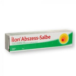 Ilon Abszess Salbe - Use for Inflammatory Skin Diseases Abscesses Boils