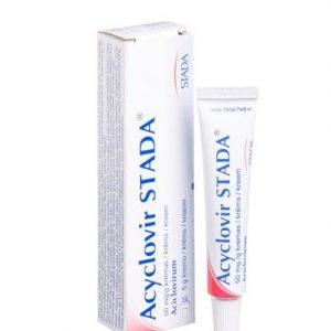 Acyclovir Stada 50mg/g Cream 5g – Herpes Simplex & Varicella antiviral