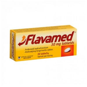 Flavamed 30mg - Treats Respiratory Disorders Acute & Chronic Bronchitis