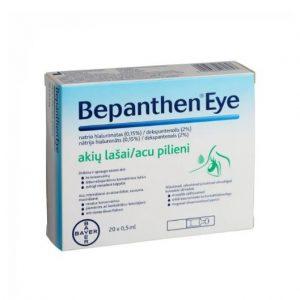 Bepanthen Eye - Moisturizing Eye Drops for Tired,Red, Irritated, Dry Eyes