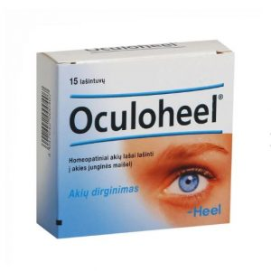 HEEL Oculoheel - Remedy for Red, Tired, Sore, Irritated, Itching Eyes