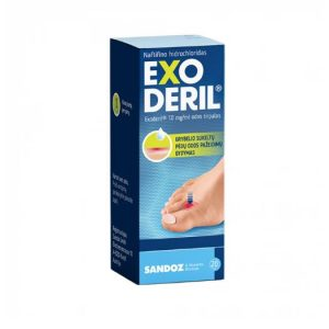 Exoderil 20 ml - Anti-Fungal Skin Treatment Solution For Molds, Candida