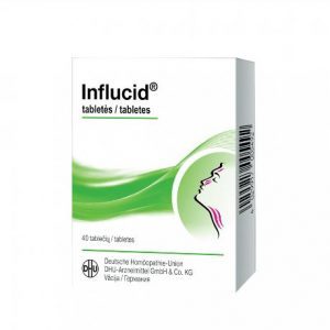 Influcid 40 tablets - Homeopathic Treatment of Cold & Flu Symptoms