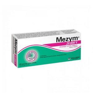 Mezym Forte 20000 - Pancreatin To Treat Digestive Disorders
