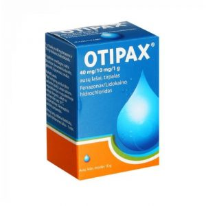 OTIPAX 15ml - Ear Drops For Pain Relief, Inflammation, Otitis, Earwax
