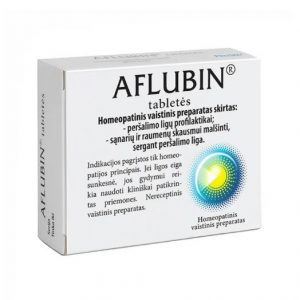 Aflubin 48 tablets - Hoarseness,Sore Throat,Coughing,Cold,Flu,Bronchitis