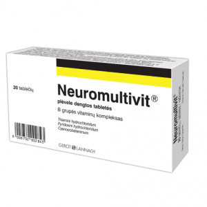 Neuromultivit - Vitamin B Group Complex For Healthy Nervous System