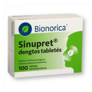 Sinupret 50 Tablets - Support For Healthy Sinus And Respiratory Function