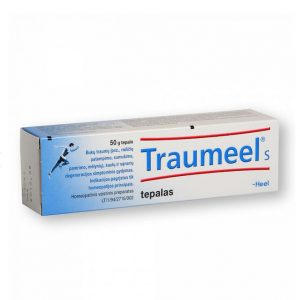 Traumeel S 50g - Homeopathic Ointment Anti-Inflammatory Pain Relief