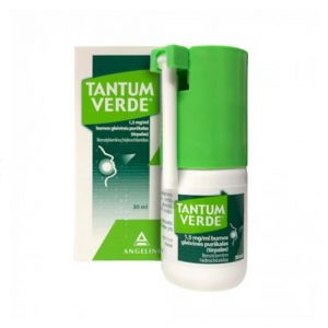Tantum Verde Oral Spray 0.15% 30ml - Instant Sore Throat Relief, Mouth Antiseptic