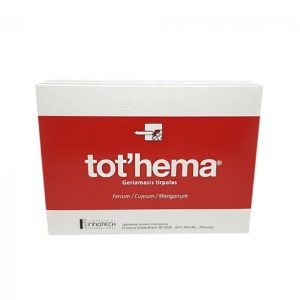 TOT'HEMA 20 x 10ml - Liquid Ampoules Of Iron And Manganese To Treat Anemia